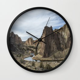 Between a Rock and a Hard Space Wall Clock