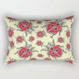 Lady Bugs pattern Rectangular Pillow