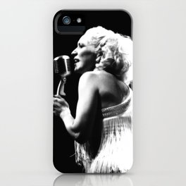 Channelling A Bygone Era iPhone Case