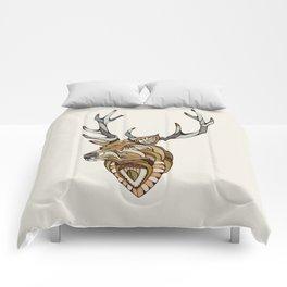 Deer // Animal Poker Comforters