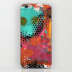 Original abstract painted artwork iPhone & iPod Skin
