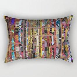 Stripped Rectangular Pillow