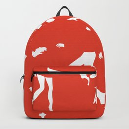 Funky couples dancing Backpack