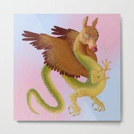 Amaru, Andean Dragon Metal Print