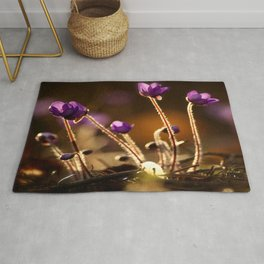 Hepaticas in The Glare Of The Sun #decor #society6 #buyart Rug
