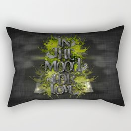 In the mood for love Rectangular Pillow