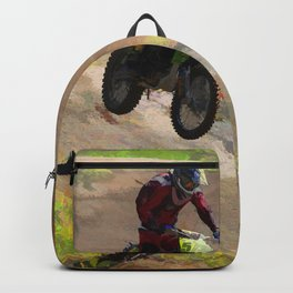 Motocross Moguls Backpack