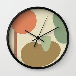 Shape Study #2 Wall Clock