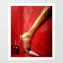 SHE GOT LEGS 3 Art Print