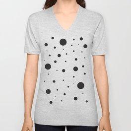 Circles and Dots Unisex V-Neck