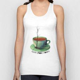 Good Coffee Unisex Tank Top