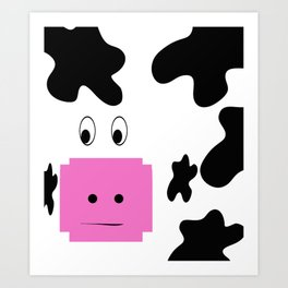 Holy Cow! Art Print