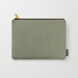 Plain Sage Green Color from SimplyDesignArt's Limited Palette  Carry-All Pouch