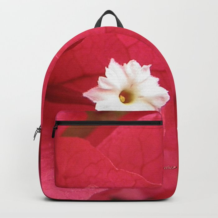 TEXTURES - Bougainvillea Backpack