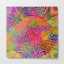 Hypnotic Metal Print