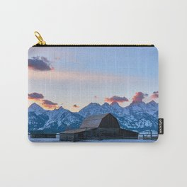 Mormon Row at Sunset Carry-All Pouch