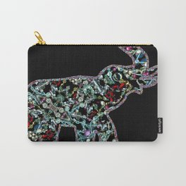 Princess Jewels the Elephant, Scanography Bling Carry-All Pouch