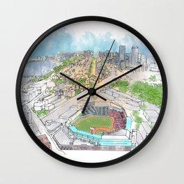 Fenway Park Wall Clock