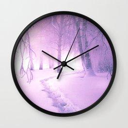 WINTER WOODS - 30118/2 Wall Clock