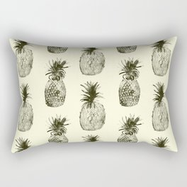 Retro pineapples Rectangular Pillow