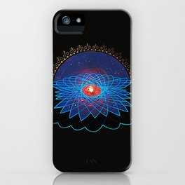 Loving Kindness Meditation Print iPhone Case