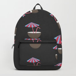 Coconut Pattern Backpack