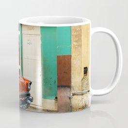 Orange Car in Havana Coffee Mug