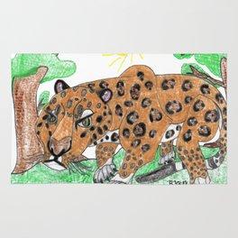 Indian Leopard Rug