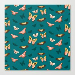 Butterfly Swarm Canvas Print