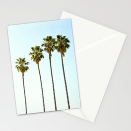 Four Palm Trees Stationery Cards