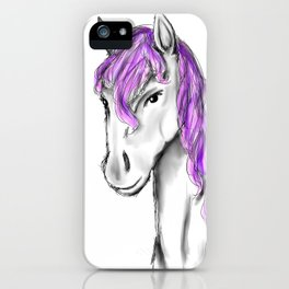 Princess Horse iPhone Case