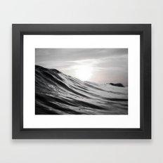 Motion of Water Framed Art Print