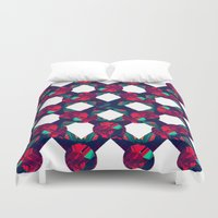 baloon Duvet Covers featuring Prizma by kartalpaf