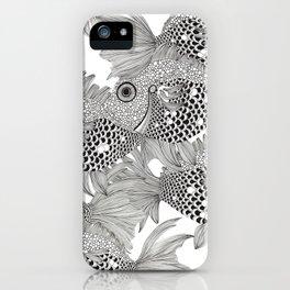 Fish School I iPhone Case