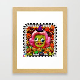 Trouble Trixie Framed Art Print