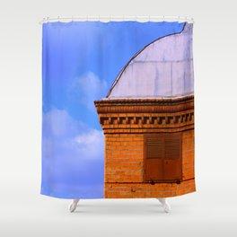 Asansor building of Izmir - Turkey Shower Curtain