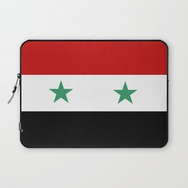 Syria country flag Laptop Sleeve