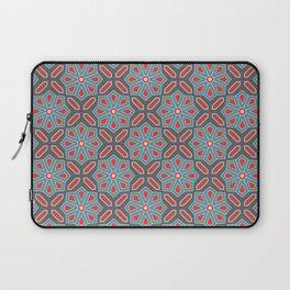 Volcanic Eruption Abstract Print Seamless Pattern Laptop Sleeve