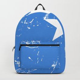 Somalia flag with grunge effect Backpack