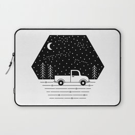 Happiness on a Dirt Road Laptop Sleeve