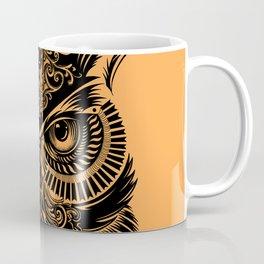 Warrior Owl 2 Coffee Mug