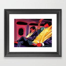 Golden Seat Framed Art Print
