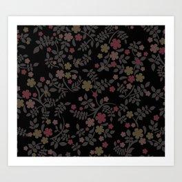 Pattern Flower Design #3 Art Print