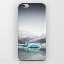 Glacier Lagoon, Iceland iPhone Skin