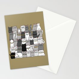 The Glaring - Scandinavian Palette Stationery Cards