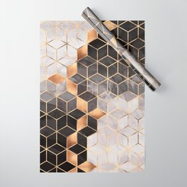 Smoky Cubes Wrapping Paper