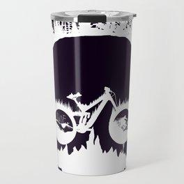 MTB Skull Travel Mug