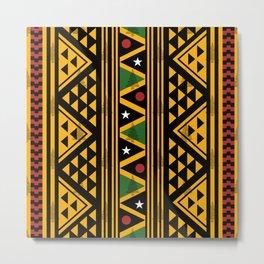 Pattern prints, African pattern, Trending Fashion Printable Metal Print