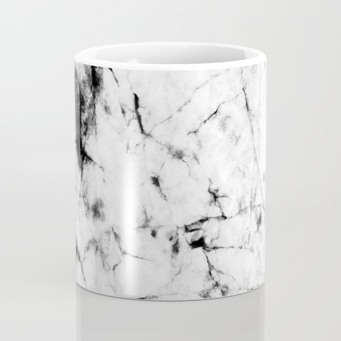 Marble Concrete Stone Texture Pattern Effect Dark Grain Coffee Mug