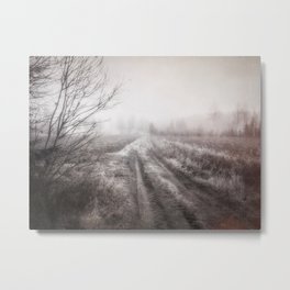 On the contryside Metal Print